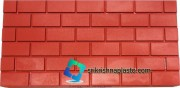 Brick-Wall-Tiles Rubber Mould- Brick-Wall-Tiles Plastic Mould- Plastic mould for wall tiles