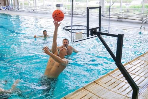 Medium Of Pool Basketball Hoop