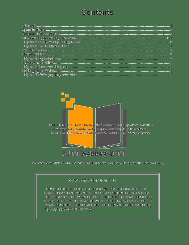 speaker wiring diagram for bose 801