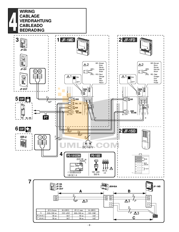 aiphone inter systems wiring diagram diagrams