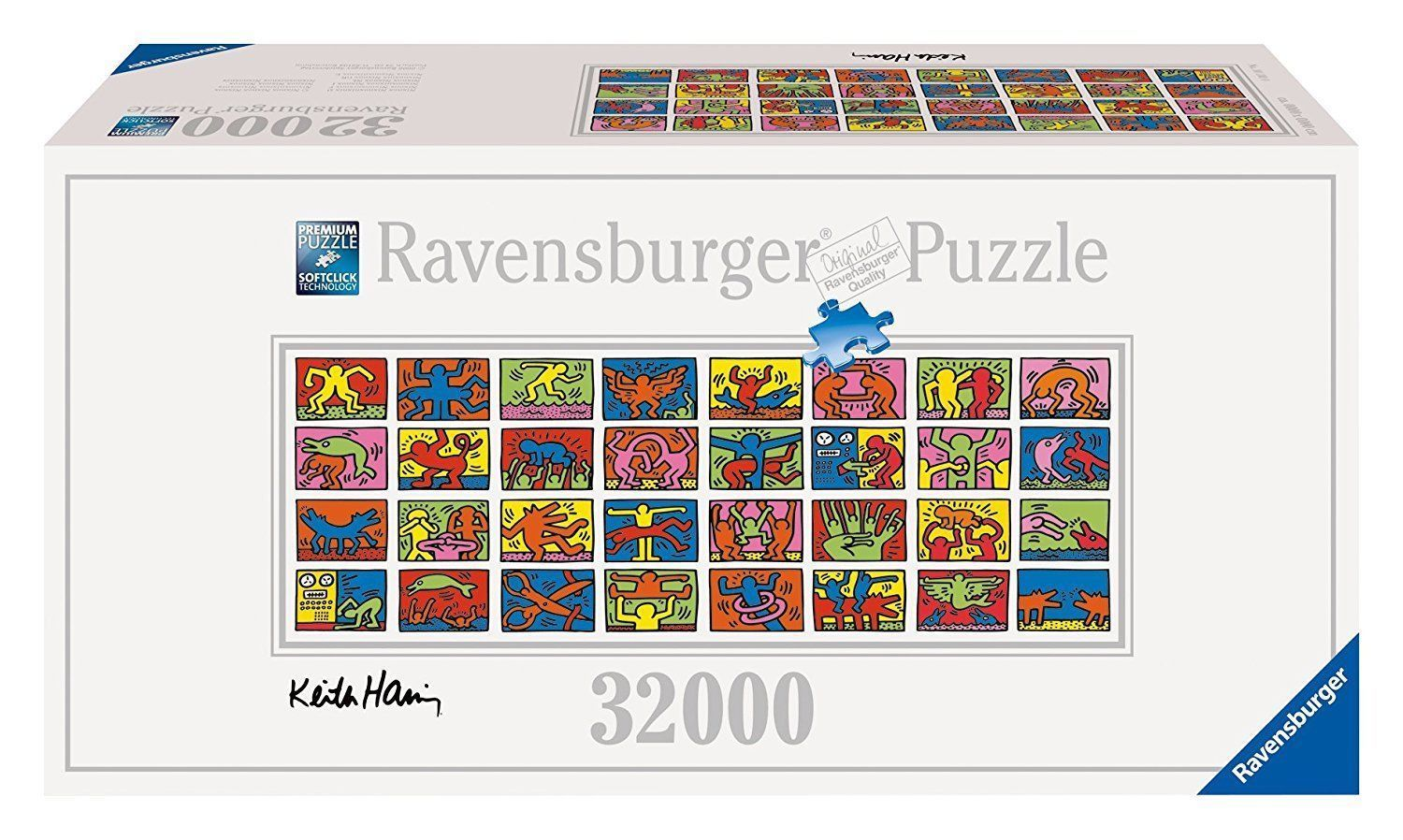 Keith Haring Bettwäsche 32000 Teile Ravensburger Puzzle 17838 Keith Haring Double Retrospect 32 000