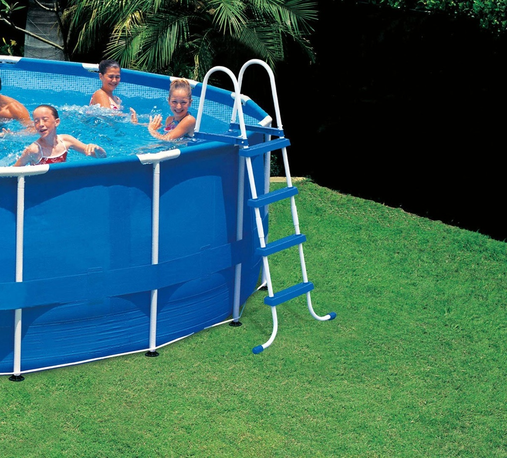 Scaletta Per Piscina Bestway Scaletta Per Piscina Intex 58974 28062 Easy Frame H 122 Cm