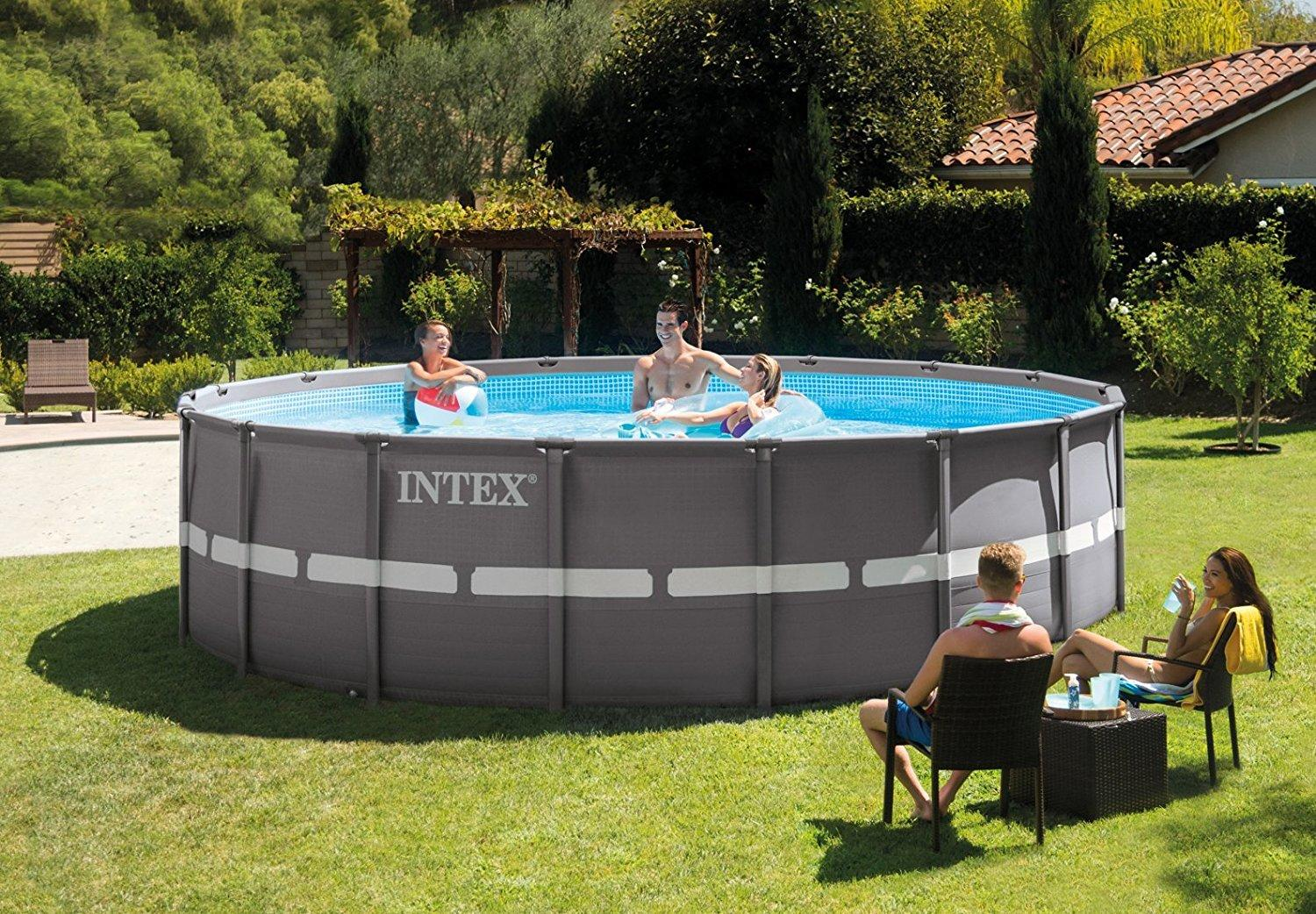 Piscina Intex Rotonda Piscina Intex 26332 Plus Ultraframe Rotonda 549 X 132 Cm