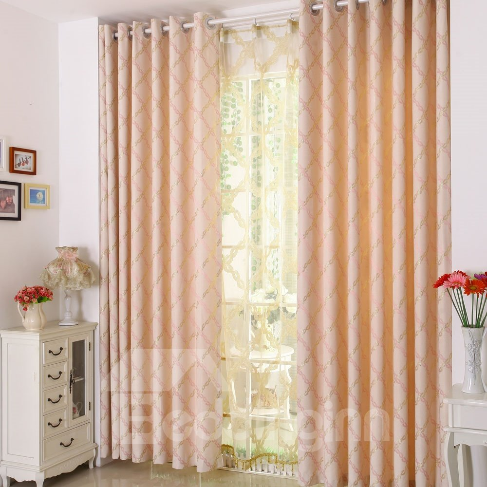 Cheap Stylish Curtains Top Quality Stylish Grommet Top Two Piece Custom Curtain