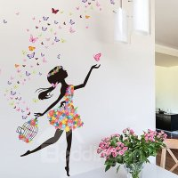 Wonderful Flower Fairy and Butterfly Bedroom Nursery ...