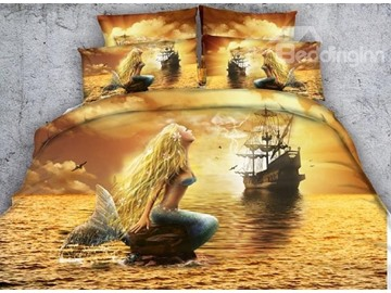 All Lovely And Beautiful Scene Print Bedding Sets