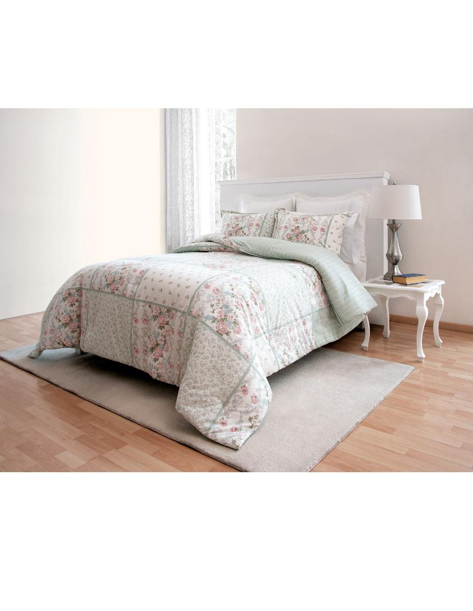Laura Ashley Muebles Set De Edredón Laura Ashley King Size Harper Rosa