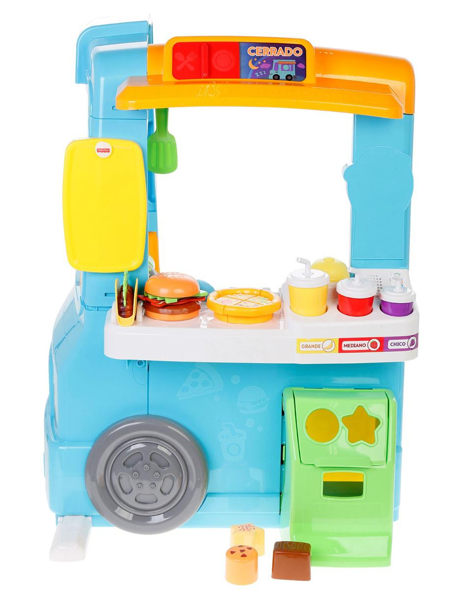 Silla Aprendizaje Fisher Price Set De Juego Food Truck De Aprendizaje Fisher Price