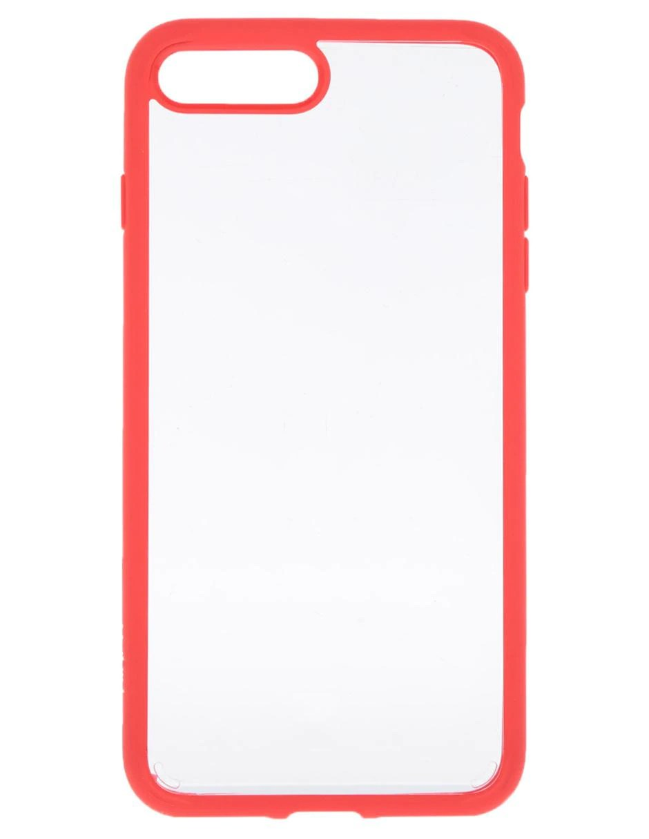 Plus Ultra Seguros Hogar Telefono Funda Para Iphone 8 Plus Ultra Hybrid Spigen Roja
