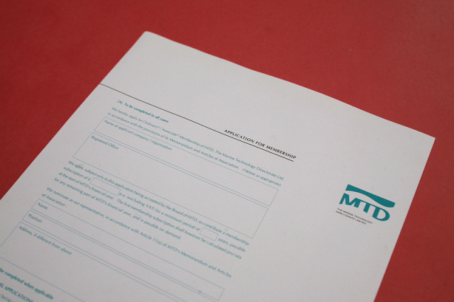 Marine Technology Directorate Logo & Stationery