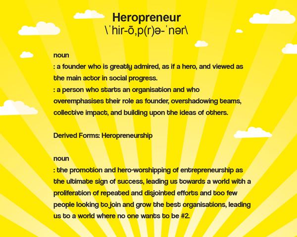 Tackling Heropreneurship