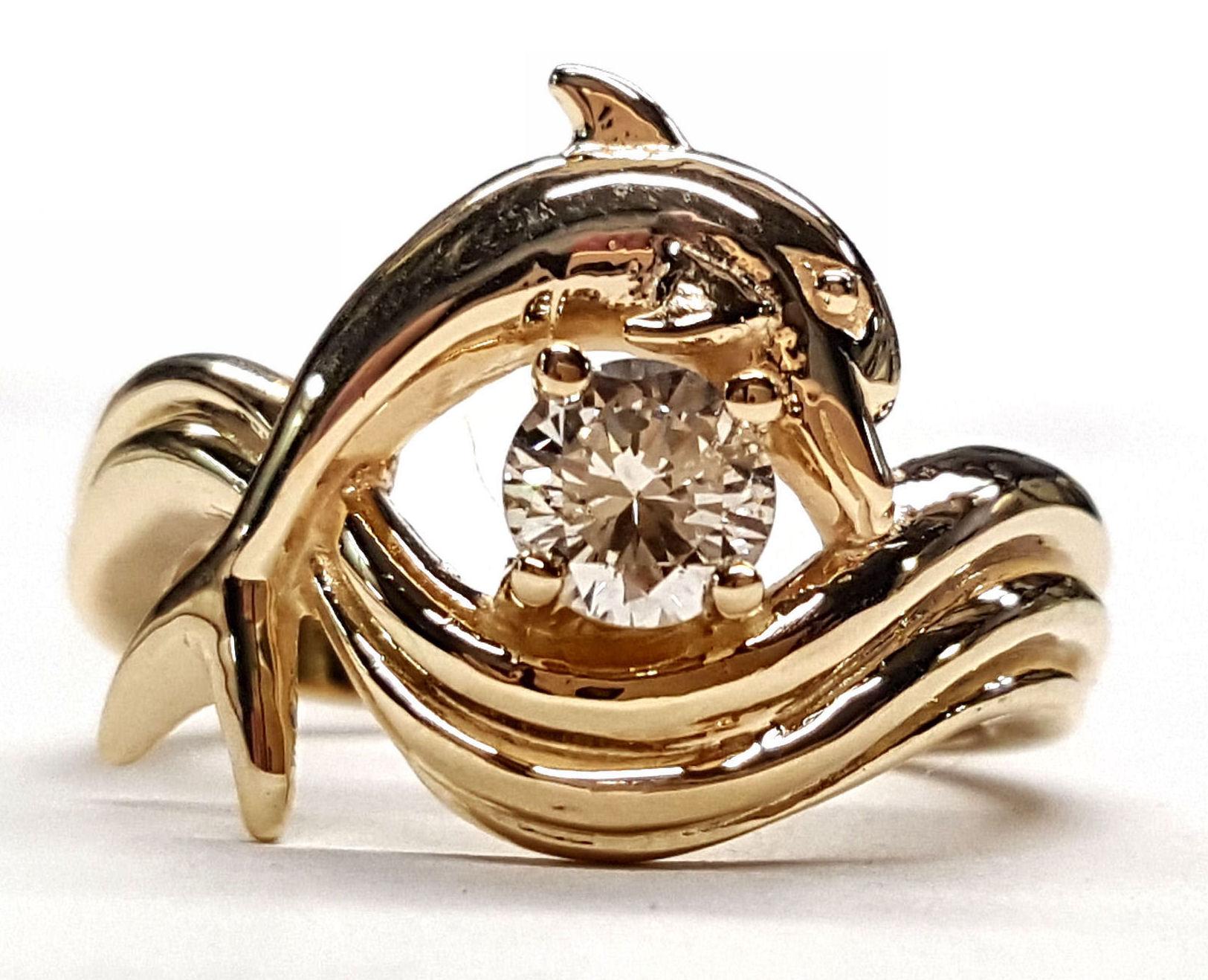 ssjewels dolphin wedding rings Dolphin Bridal Jewelry fine diamond jewelry