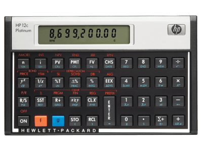HP 12C Platinum Financial Calculator| HP® Official Store