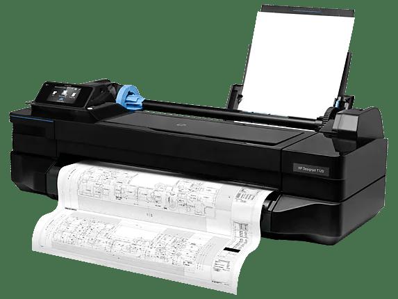 Hp Designjet T120 24quot Wide Format Printer Cq891ab1k