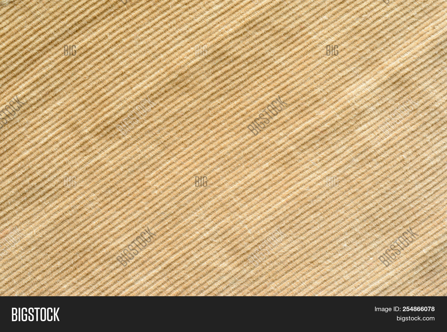 Texture Of Beige Velvet Clothes Textile Fabric Of Corduroy As Background Image Stock Photo 254866078