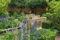 Beautiful patio and flower garden | Plant & Flower Stock ...