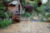 Beautiful patio garden | Plant & Flower Stock Photography ...