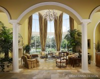 Country French Living Room | Montanna & Associates ...