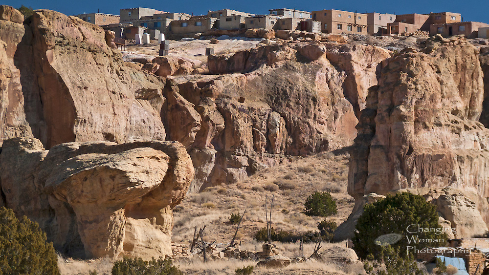 Sky City Acoma Pueblo Changing Woman Photography