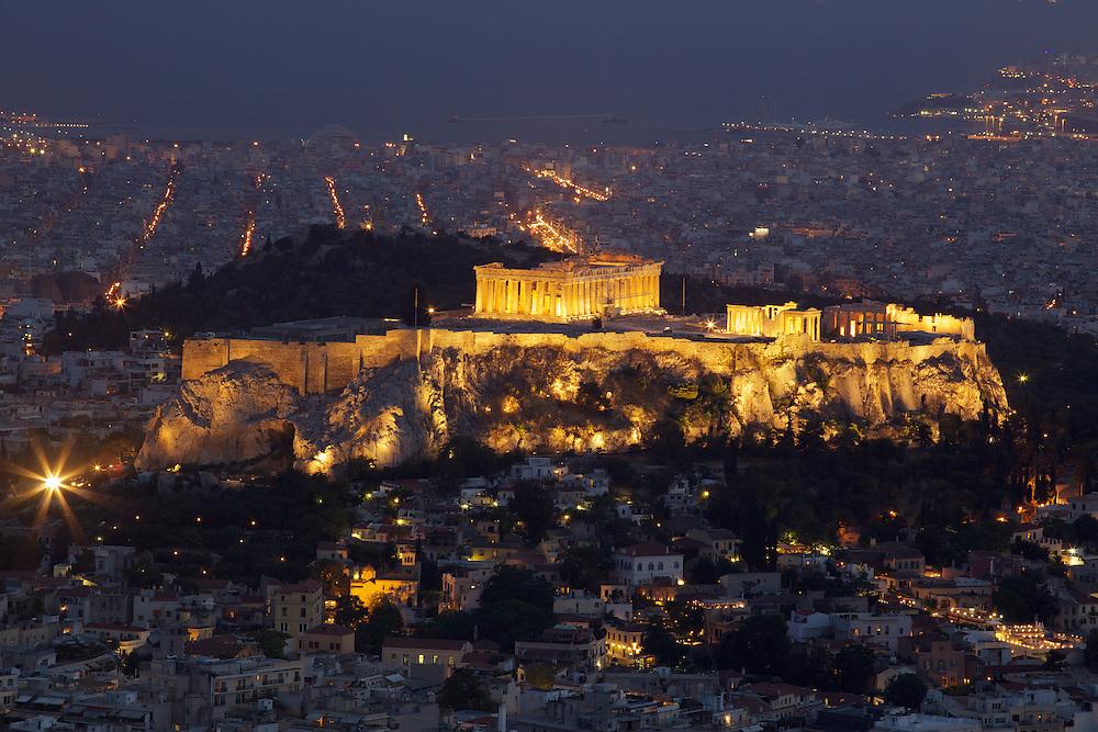 Phoenix Wallpaper Hd 3d Athens Greece At Night Duncan Rawlinson