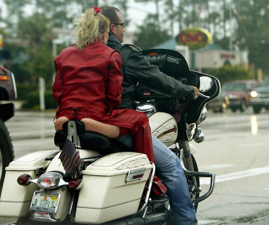 Street Bike Girl Wallpapers Woman In Thong Rides At Bike Week Rick Wilking Photography