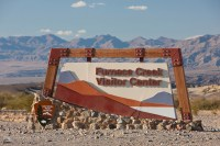 Furnace Creek Visitor Center Sign, Death Valley | Jim M ...
