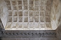 Split - Diocletian's Palace - coffered marble ceiling of a ...