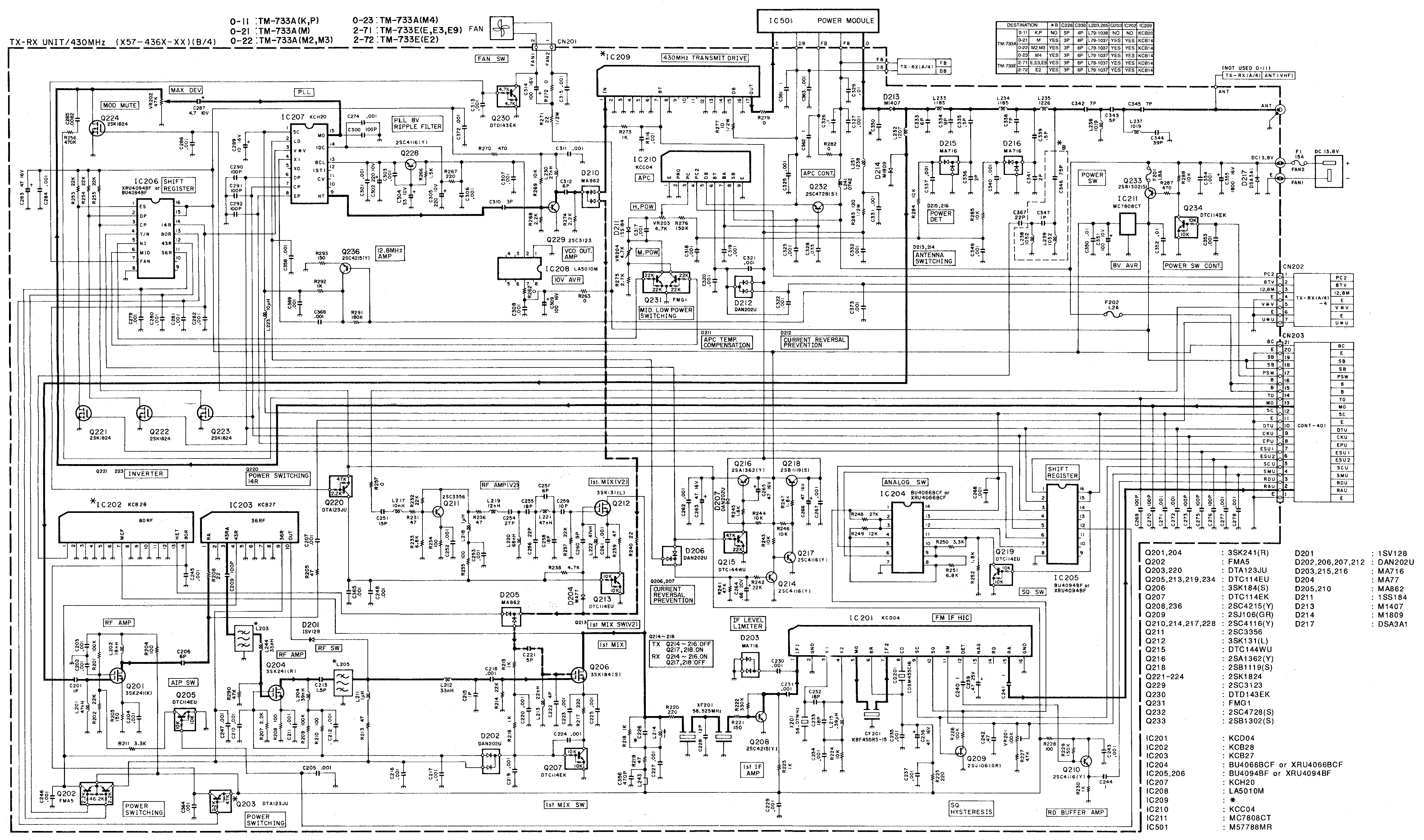 kenwood radio schematics