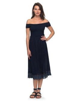 Ritzy Lovers Off Shoulder Dress Blue Roxy Lovers Off Shoulder Dress Off Shoulder Dresses Amazon Off Shoulder Dresses Sleeves