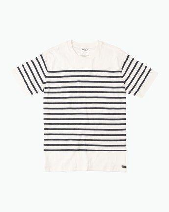 Dean Stripe Knit T-Shirt M906QRDS RVCA