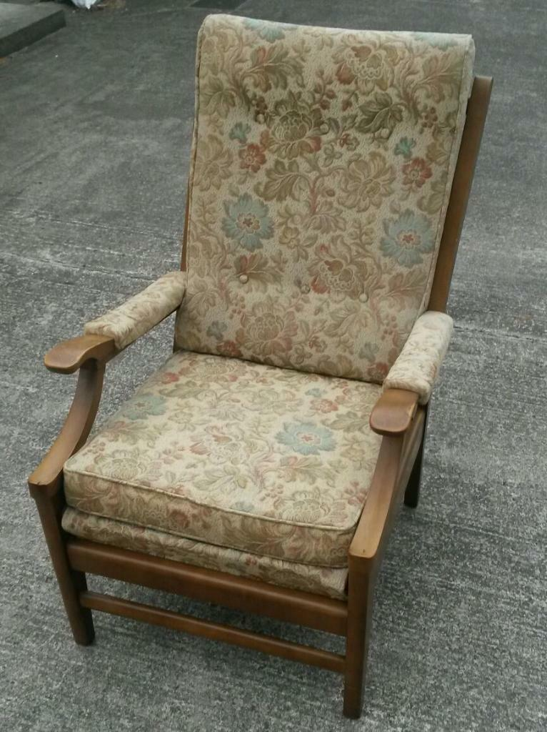 Sofas For Sale Gumtree Northern Ireland Fantastic High Backed Chair, Vintage Cintique Armchair