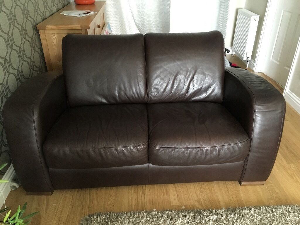 Leather Recliner Gumtree Glasgow Natuzzi Brown Leather 2 Seater Sofa Cambuslang Glasgow