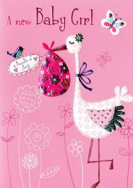 Baby Girl Congratulations Greeting Card Second Nature Daydreams - baby girl congratulations card