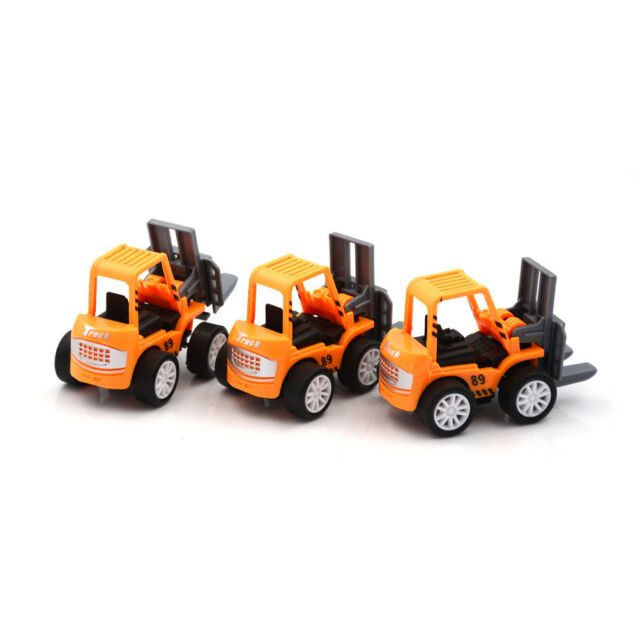 2pcs Engineering Vehicle Kids Mini Toys Educational Plastic Car Toy