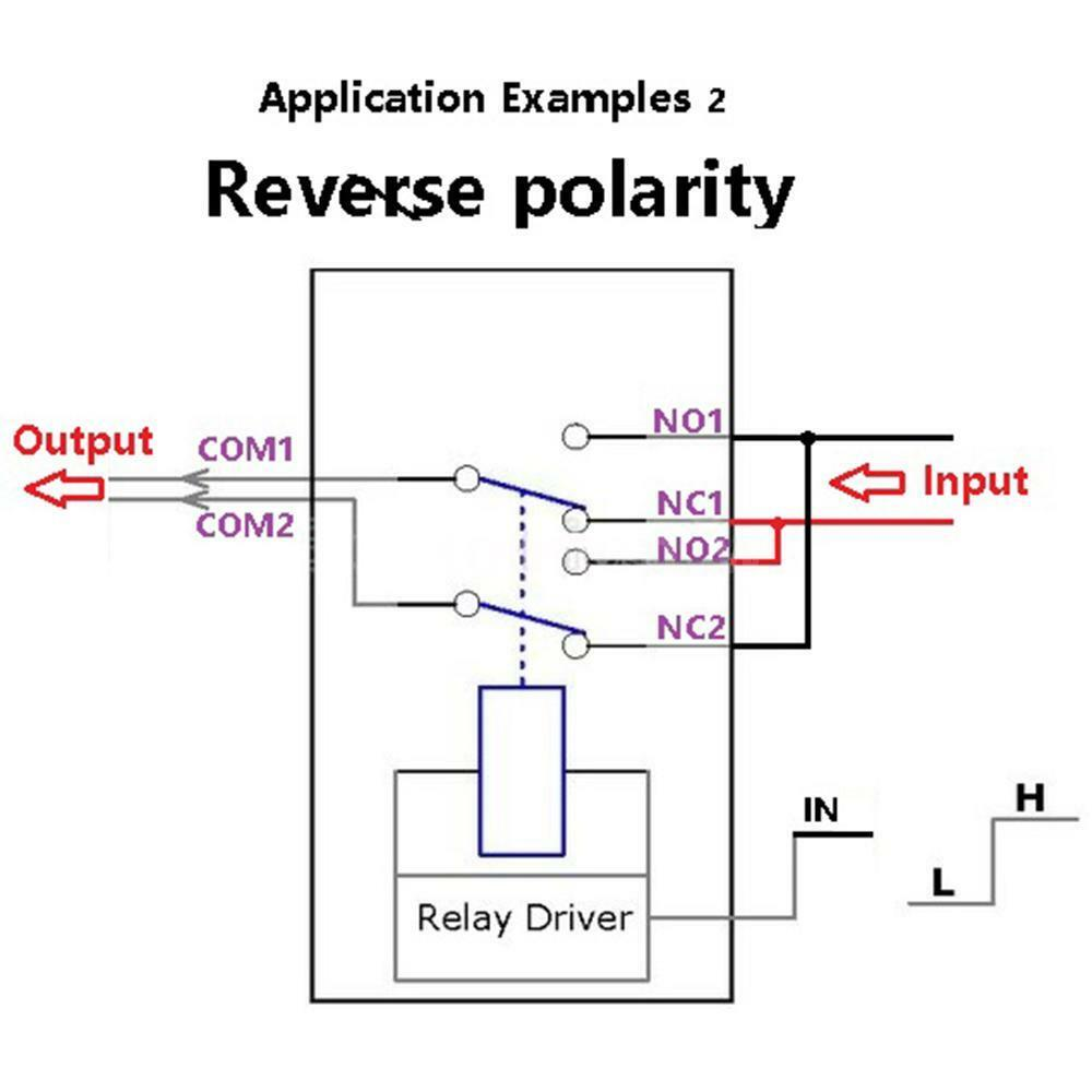 relay dpdt switch wiring diagram