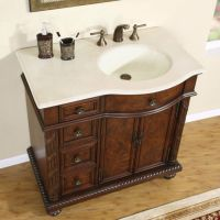 """36"""" 0213cm - off Center Right Sink Marble Top Bathroom ..."""