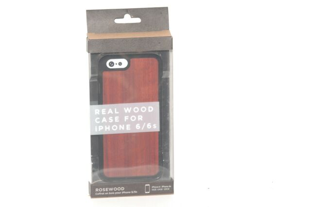 Recover Real Wood Case for iPhone 6 / 6s Rosewood eBay