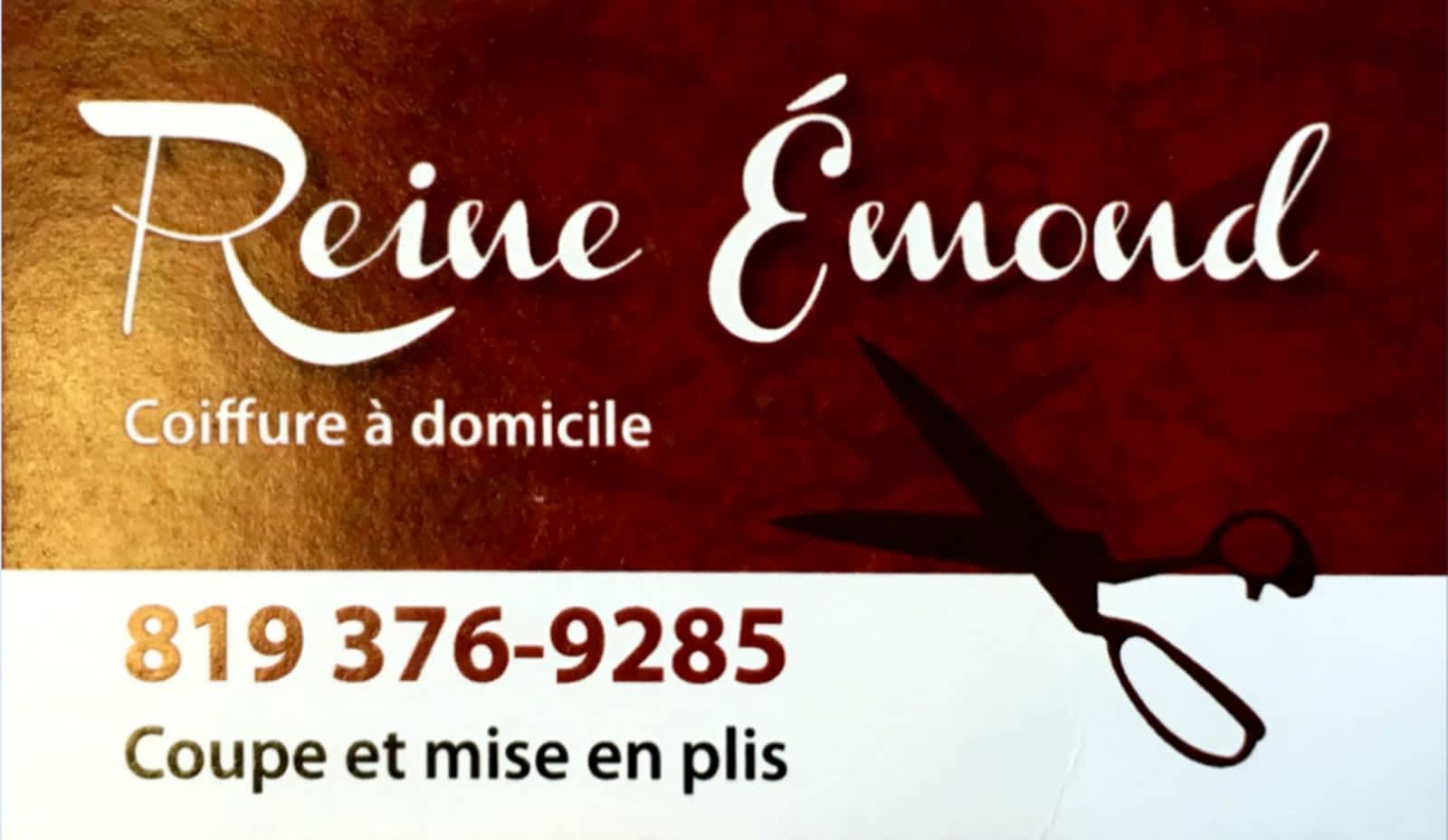 Reine Emond Coiffure A Domicile Opening Hours Trois Riviere Qc