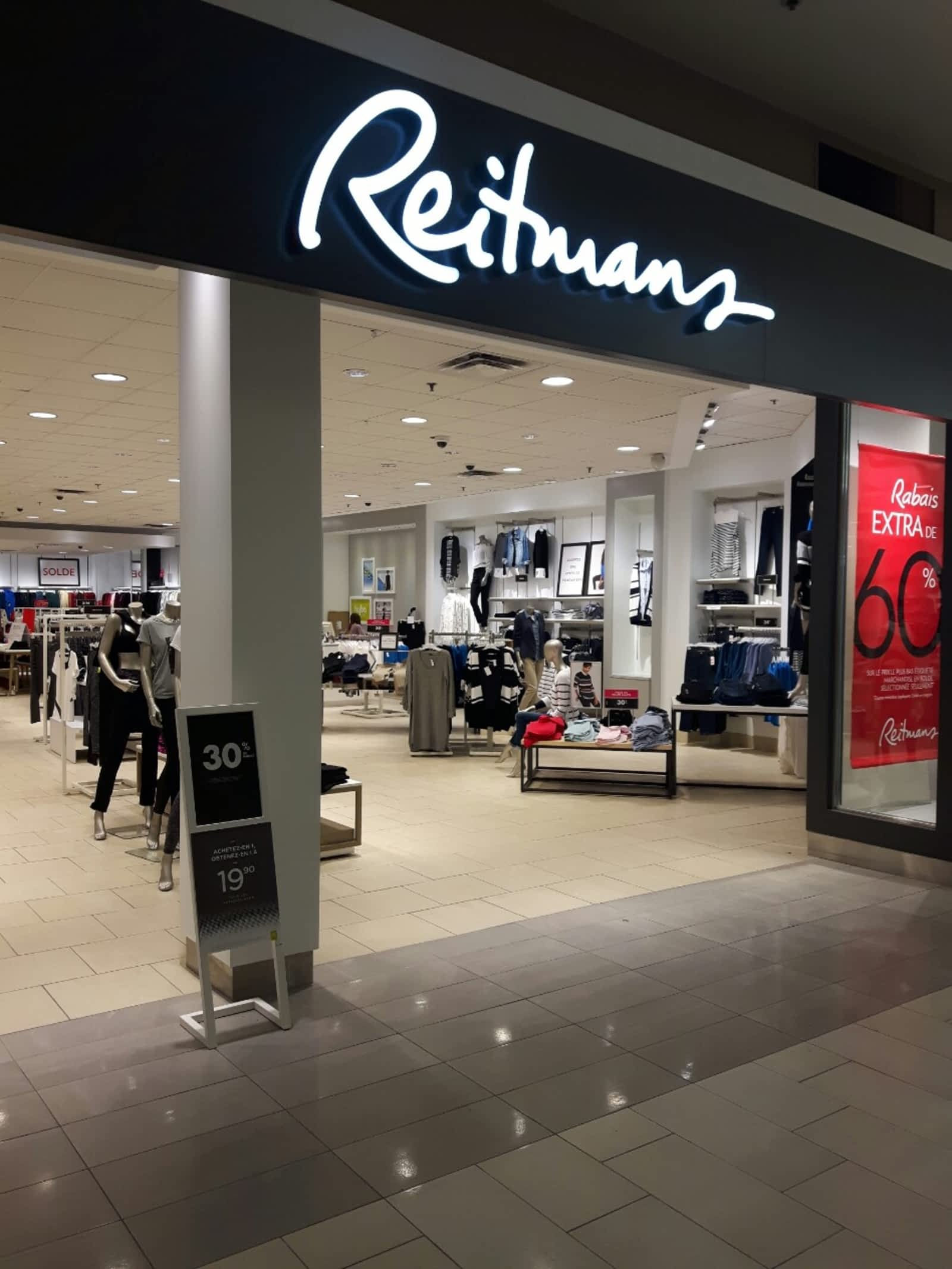Store A Rabais Reitmans Opening Hours 7077 Boul Newman Lasalle Qc