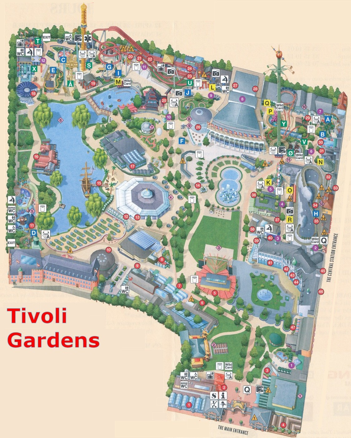 Tivoli Denmark English Denmark