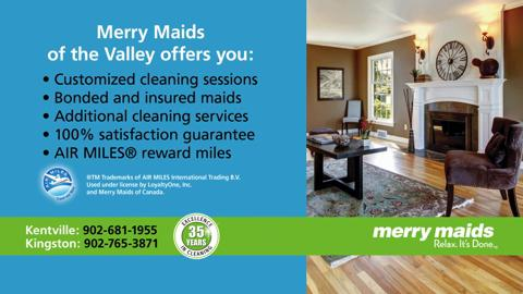 Merry Maids - Opening Hours - 1535 Bridge St, Kingston, NS