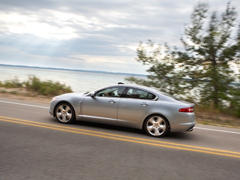 2009 Jaguar XF Supercharged - April 2009 Four Seasons Fleet Update