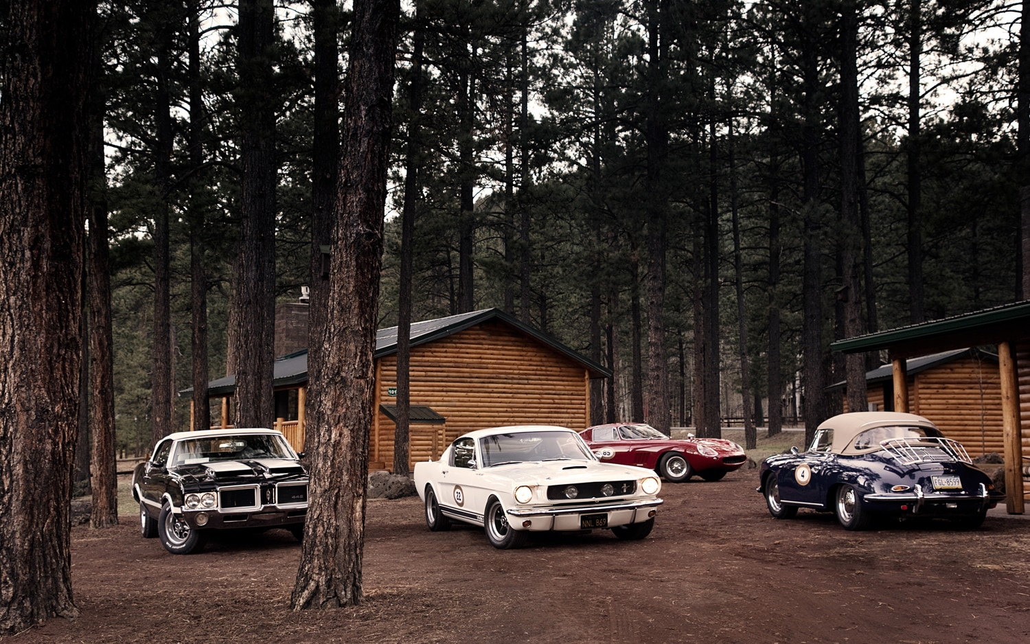 Cool Wallpapers Cars American Muscle Running The Copperstate 1000 Road Rally Automobile Magazine
