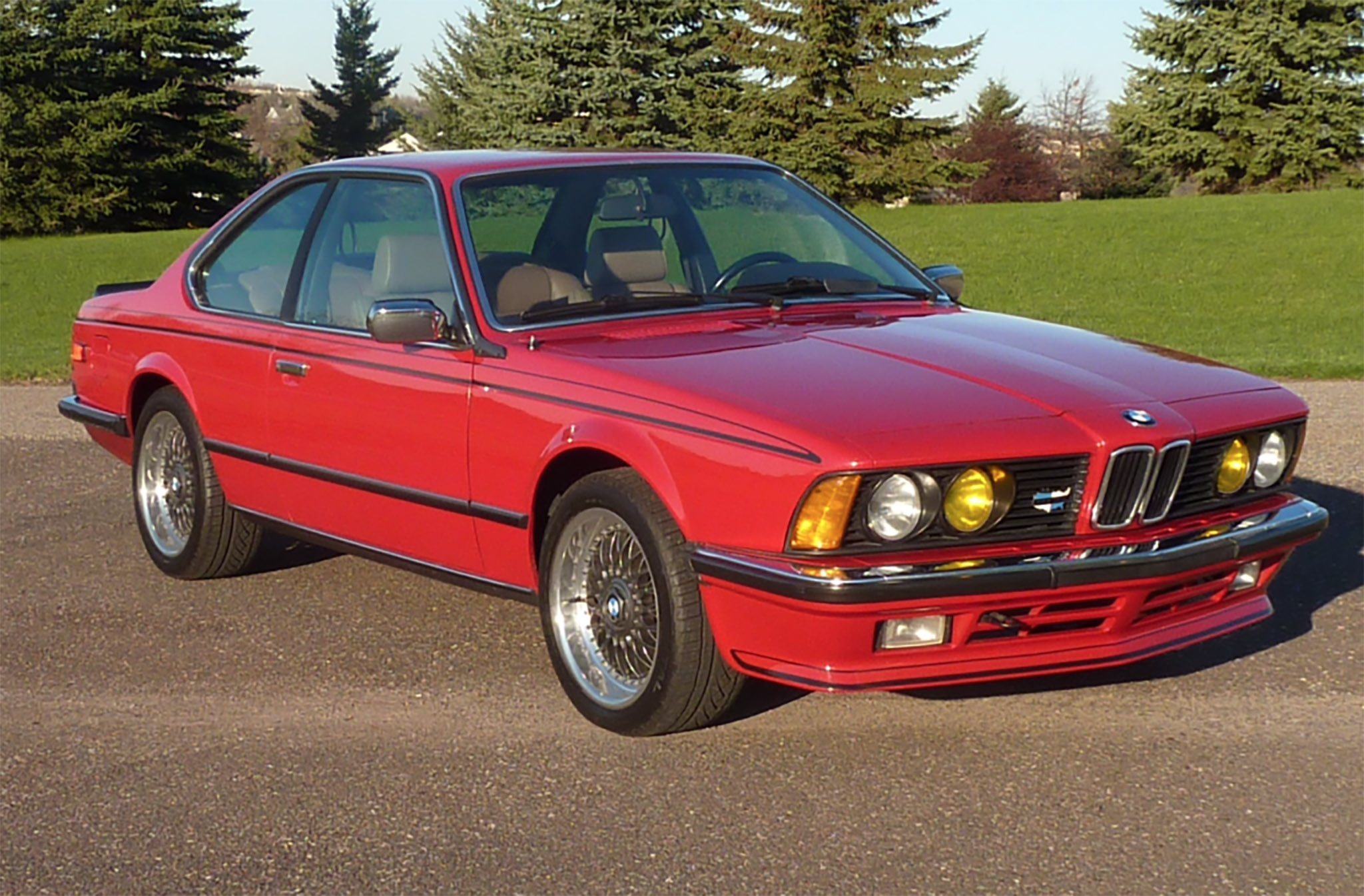 Race Car Wallpaper Images Just Listed 1985 Bmw 635csi Automobile Magazine