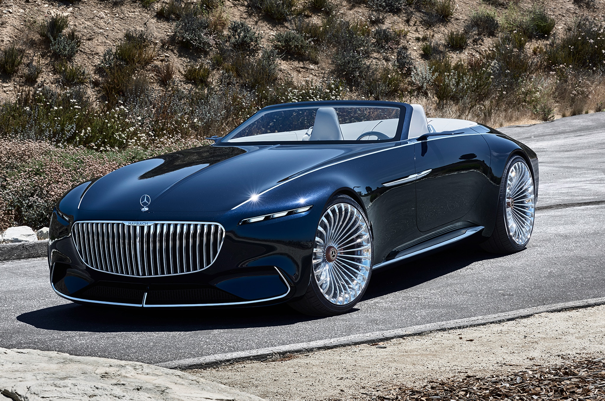 Mercedes Maybach Vision Mercedes Maybach 6 Cabriolet Wows Pebble Beach
