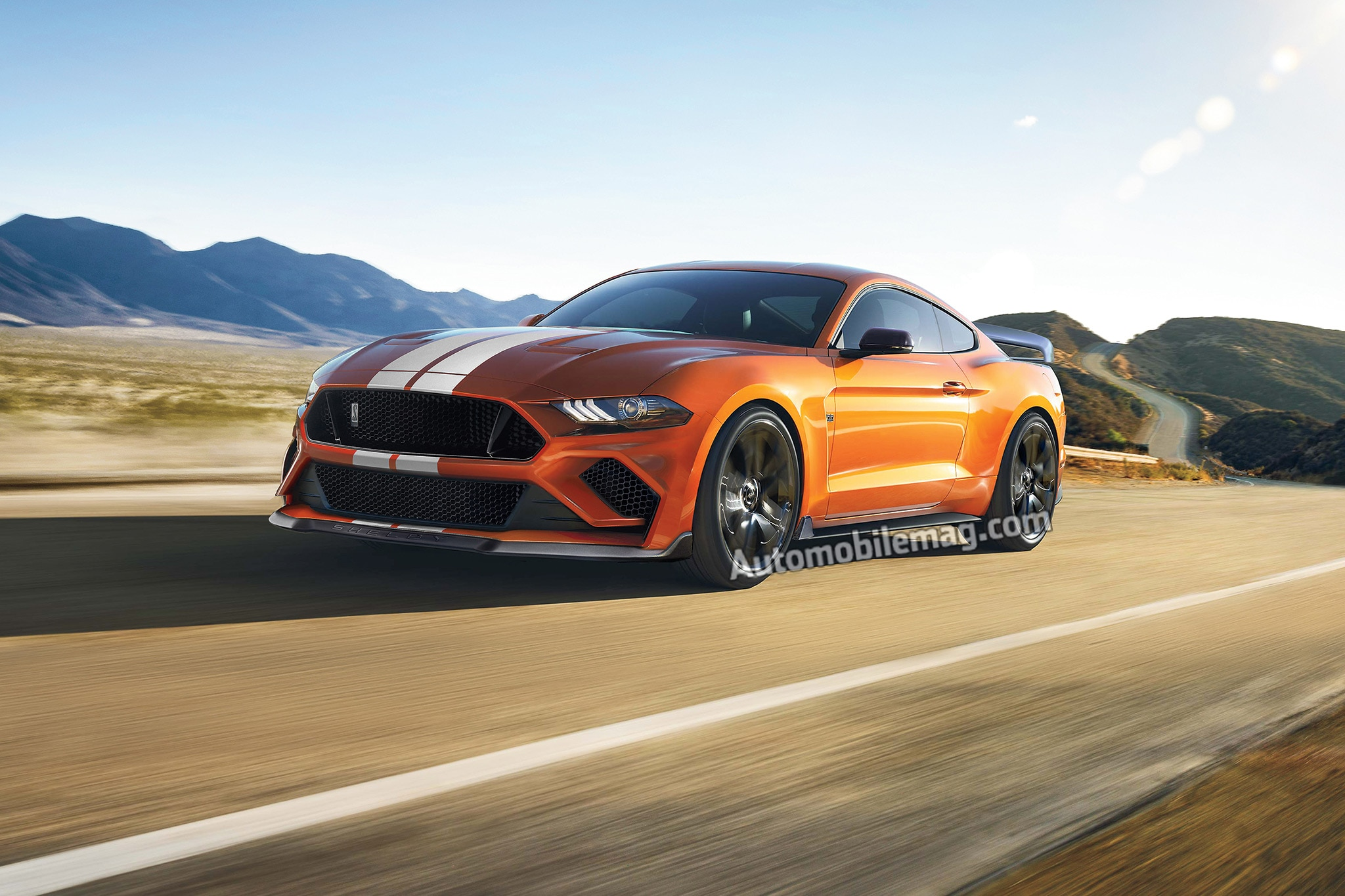 Animated Snake Wallpaper 2019 Ford Mustang Shelby Gt500 Confirmed With 700