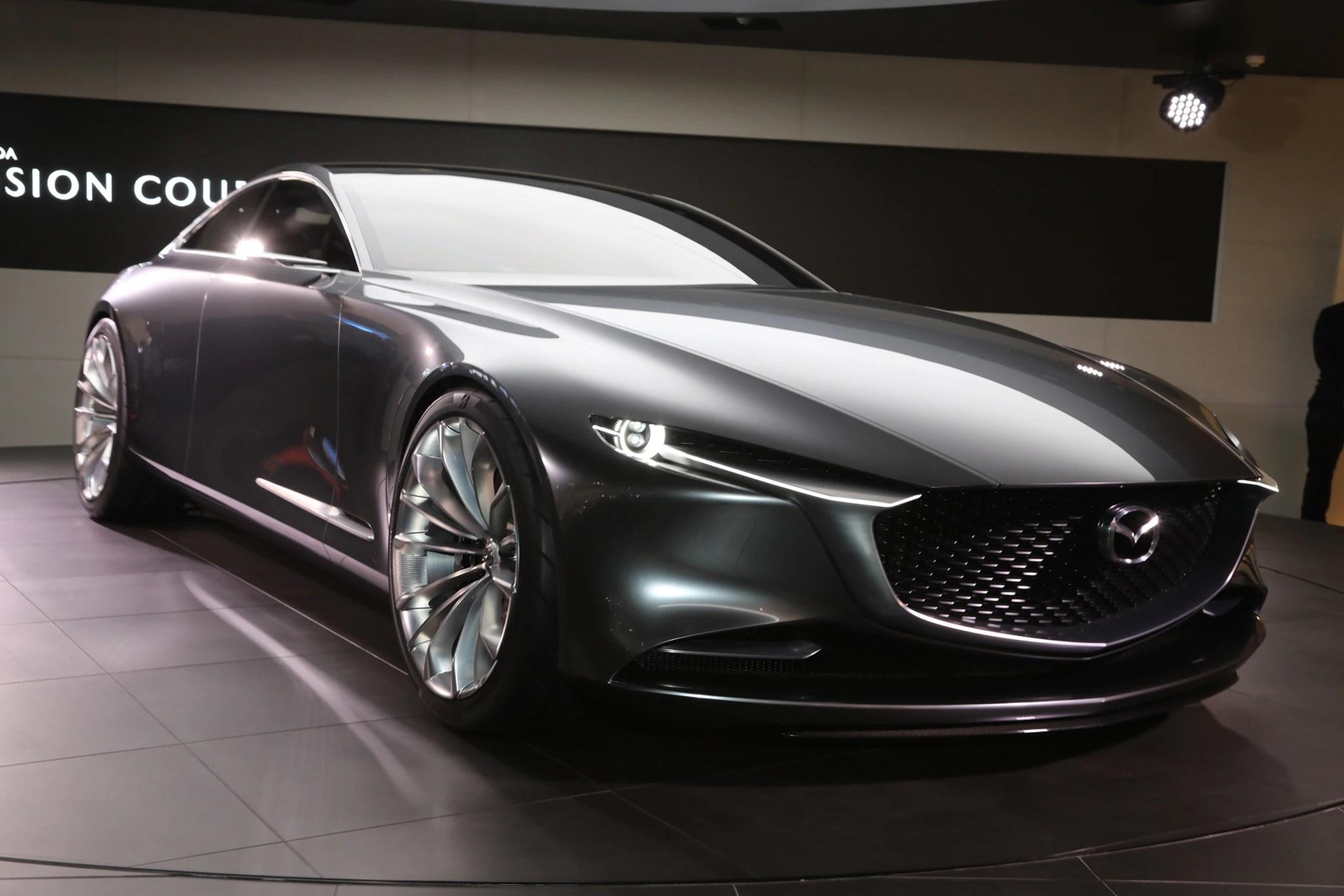Genesis Car Wallpaper Mazda Vision Coupe Concept Hints At Rwd Non Rotary