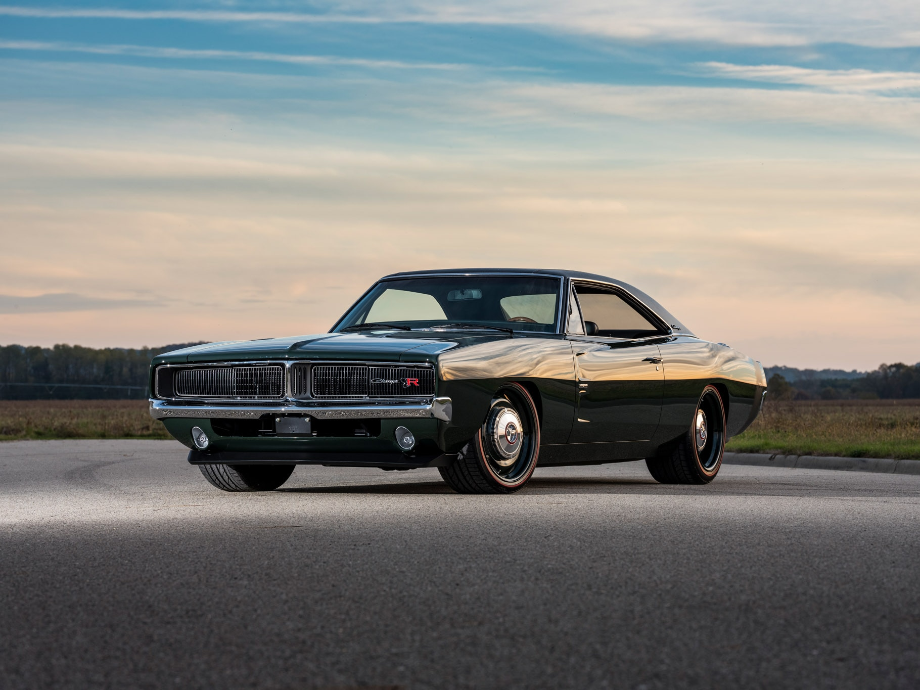 Dodge Muscle Car Wallpapers Ringbrothers 1969 Dodge Charger Restomod Is An Exercise In