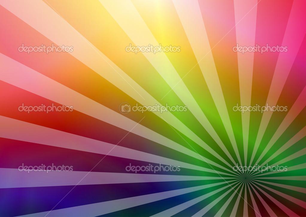 Rainbow business card \u2014 Stock Vector © OlgaDrozd #21283751