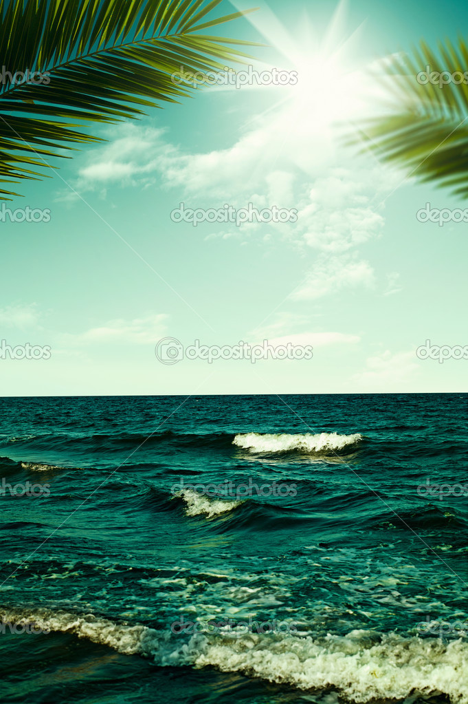 Abstract vacation and travel backgrounds for your design \u2014 Stock